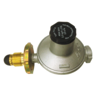 "LPG (Single Stage) Gas Regulator - 3.5kg/hr BBQ regulator 3/8"" BSPF outlet"