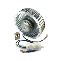 MOTOR FAN KIT QUASAR with Capacitor and Blue Dot Fan Switch