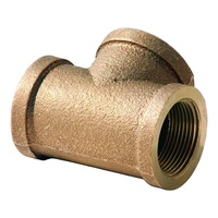 TEE BRASS 10MM