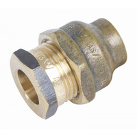 Compression Union Flared 15mm Copper x 15mm Copper