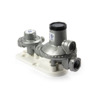 CARAVAN CAVAGNA  LPG DUAL GAS REGULATOR - 160Mj - WITH BRACKET - 6060521