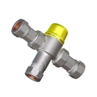 TEMPERING VALVE FOR STORAGE SYSTEM - DN15 COMPRESSION WITH OLIVE - PART# TV15S