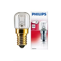 Blanco, Smeg, Philips Oven Light Globe, 15W, 300c Ask Us For All Appliance Parts